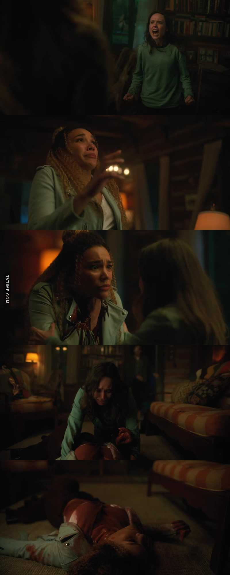 😱😱😱 I didn't see that coming. She killed her sister. She killed Allison.  😱😱😱