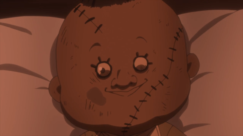 I know that Sister Krone isn't the most dangerous one but damn she is creepy in almost every scene! And I really hate her doll!