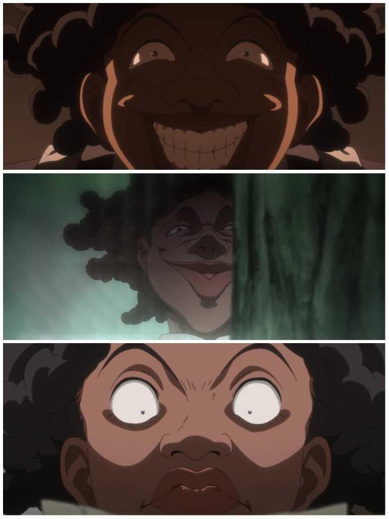Sister Krone will haunt my nightmares. 👹😱