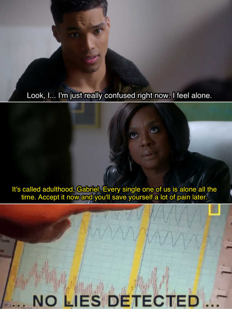 I live for Annalise stating facts 🙌👏