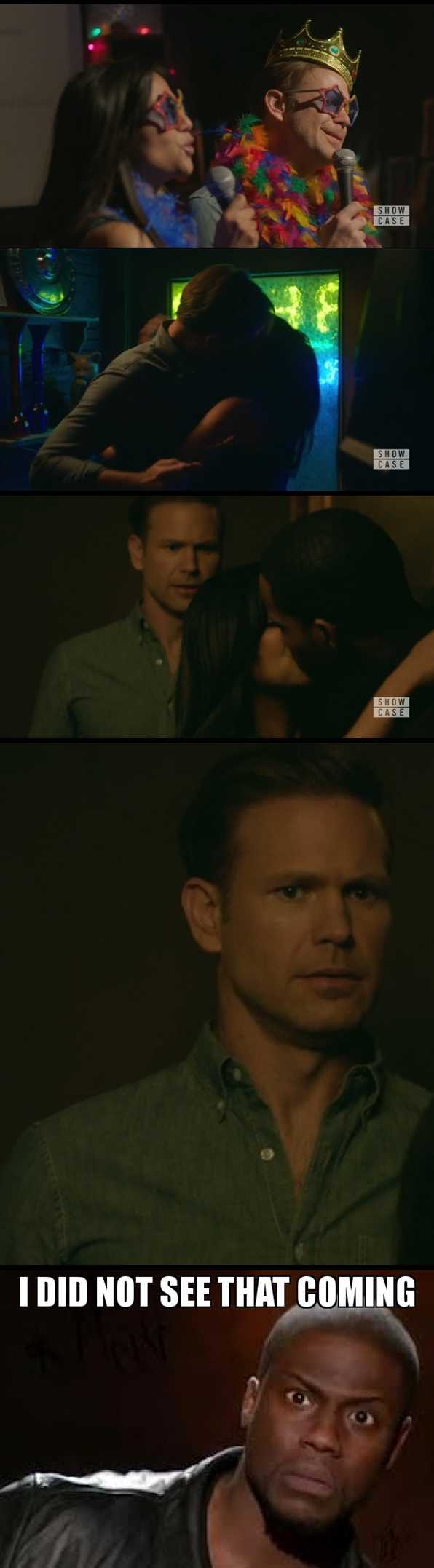Loved everything about Alaric this episode. But I did not see that coming.