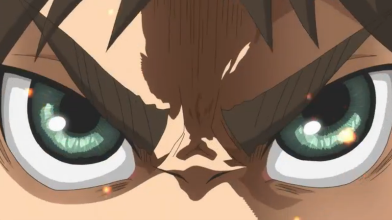 THOSE EYES GLOWING WITH RAGE   SO POWERFUL SO BEAUTIFUL