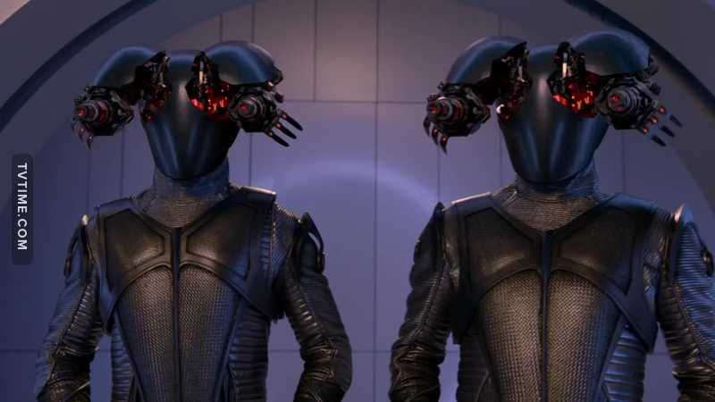 Never expected genocide to be a topic on The Orville! (Would expect something like this maybe of Star Trek Discovery). I did find the look of guns popping out of their heads a funny look