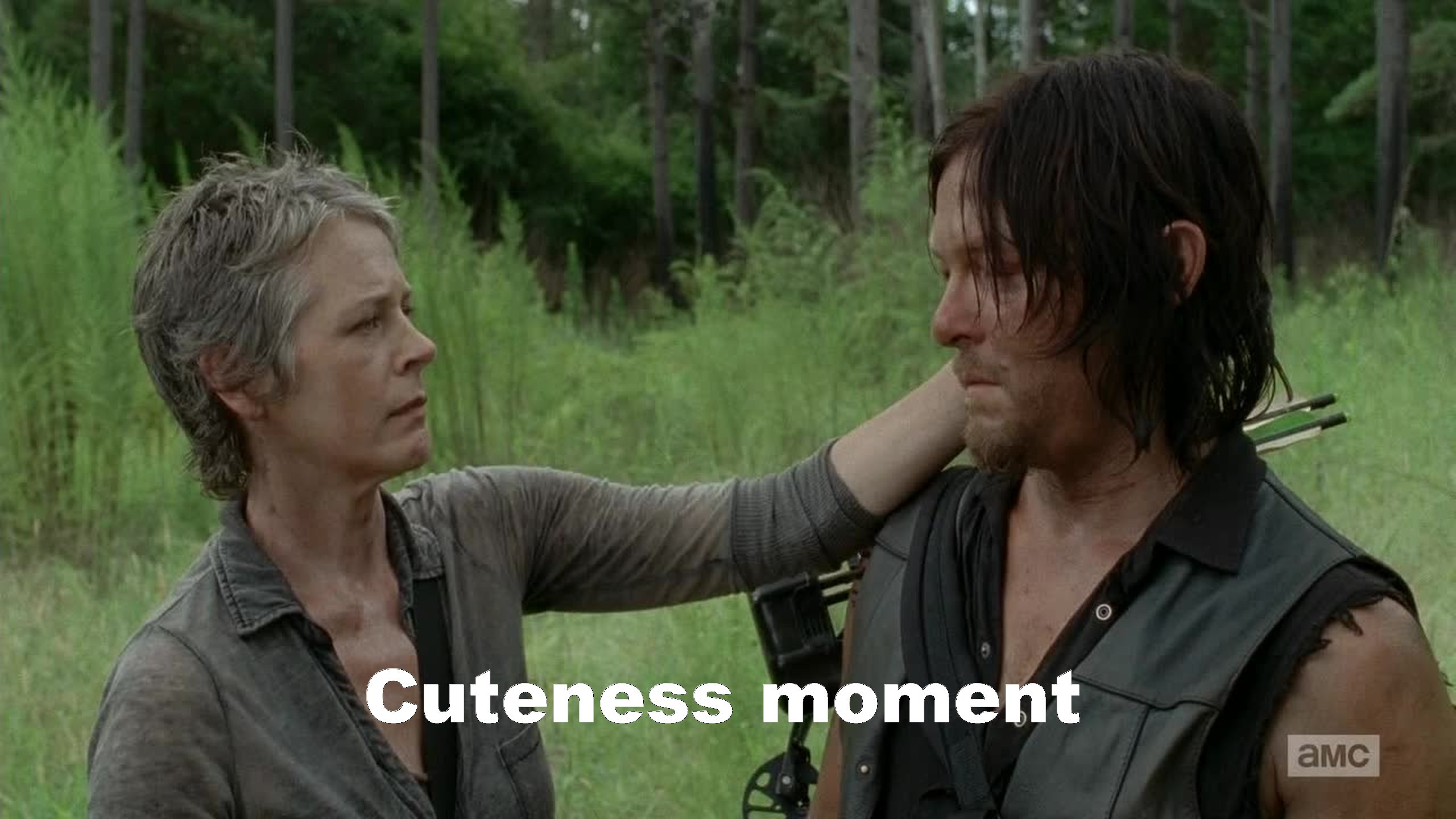 Carol & Daryl, too much love for them...