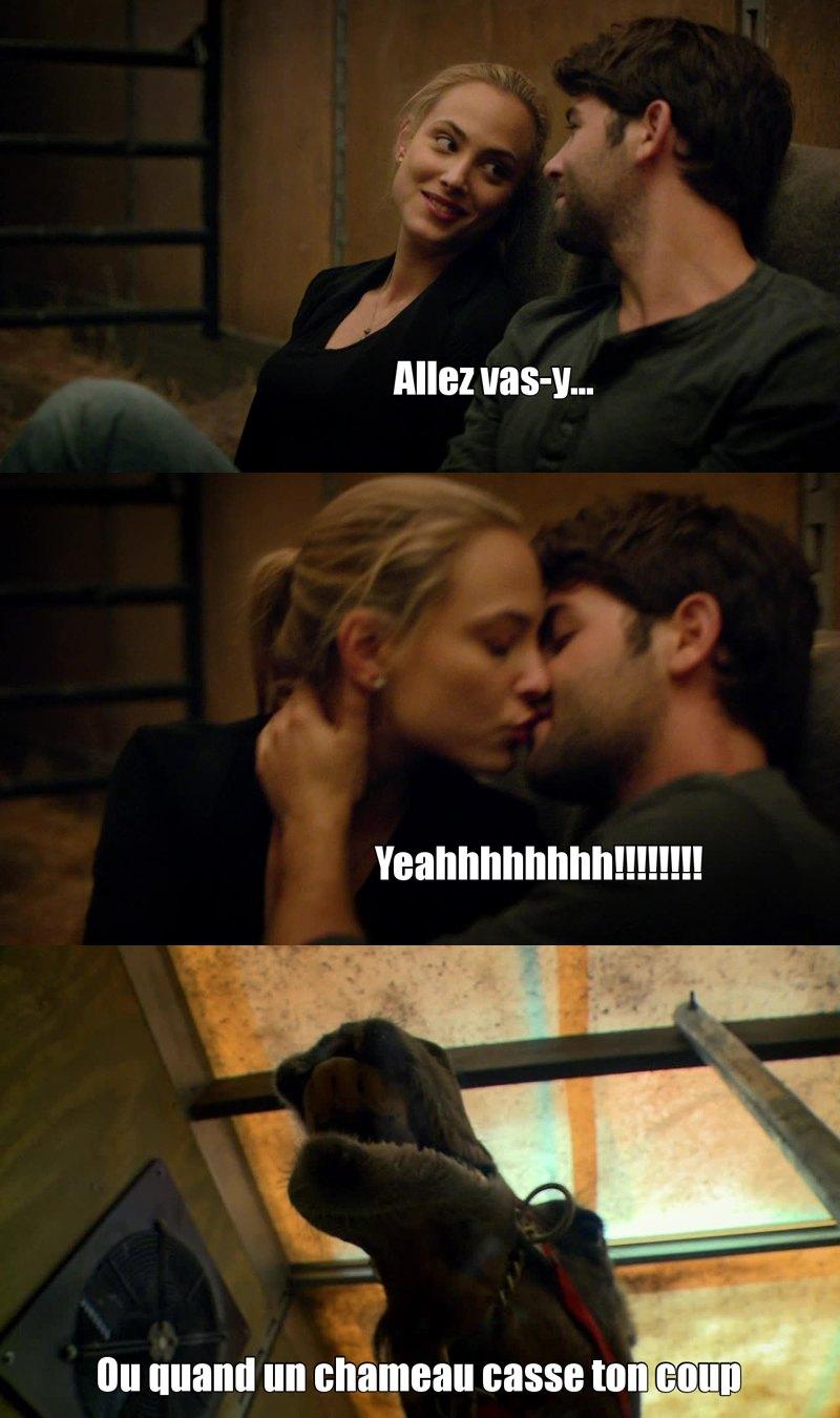 Pas mal cet épisode, avec évidemment, LE baiser qu'on attendait tous...