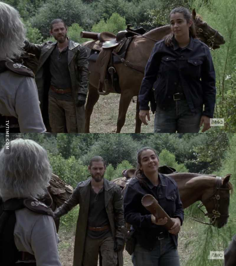 So now we know how Tara ended up in Hilltop, and I love her for it, actually. She's going to be such a good leader!
