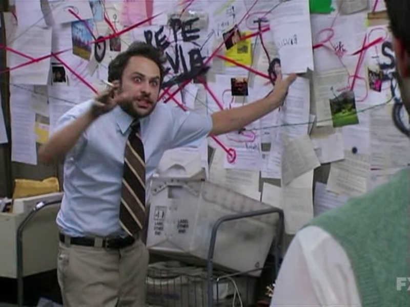 Luke pitching his idea to Jace about Clary