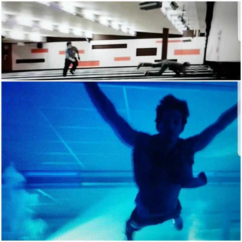 So I guess some things never change 😂 Klaus did the exact same jump at the bowling #TheUmbrellaAcademy #RobertSheehan