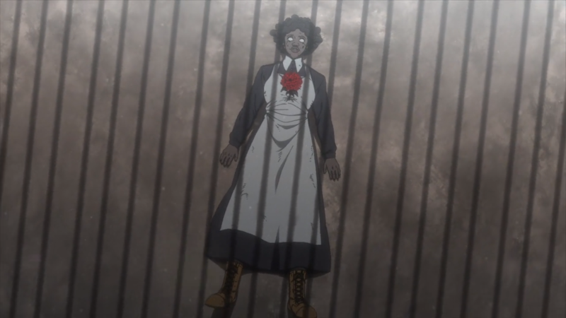 Sister Krone was so creepy, but I must confess...I was sad about her...