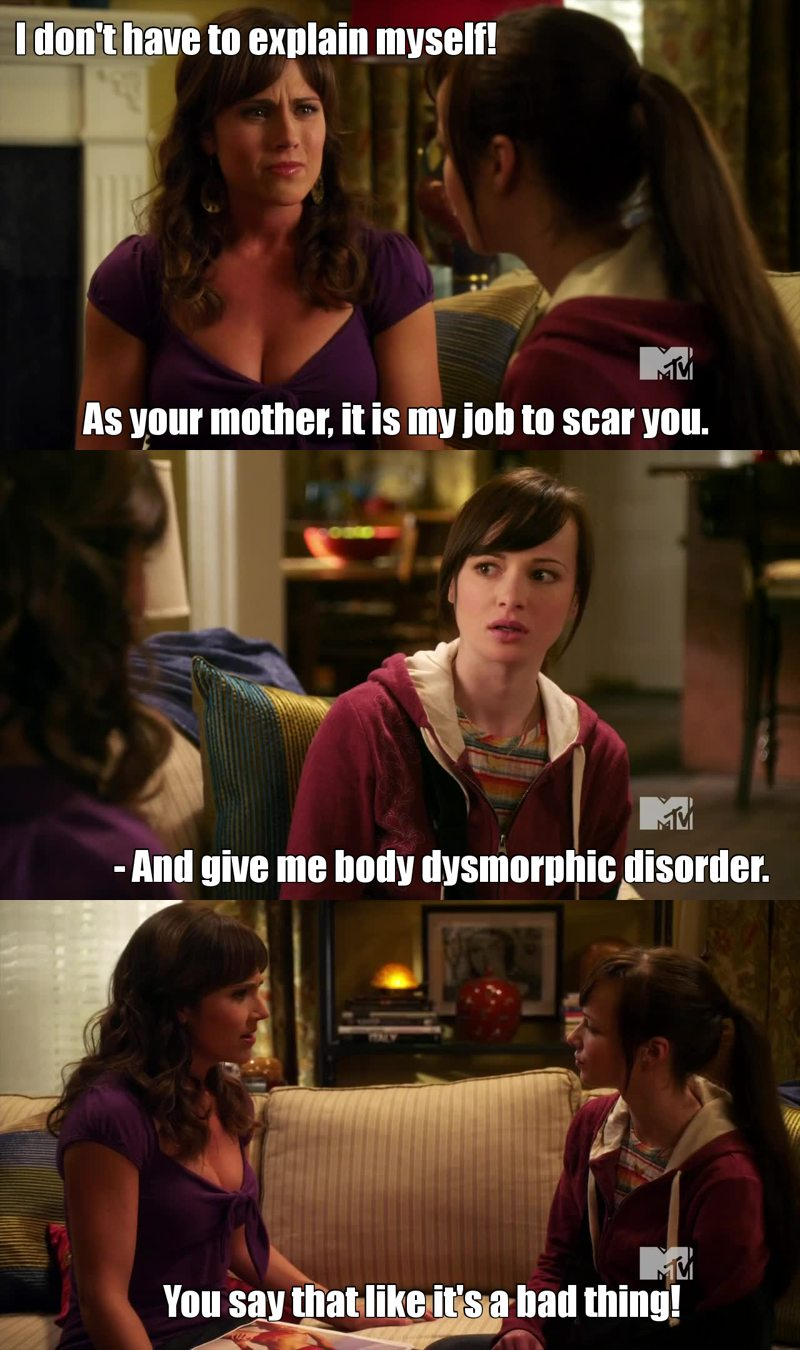 Ha! 😂😂😂  Also Sadie is a manipulative bitch. Love her.