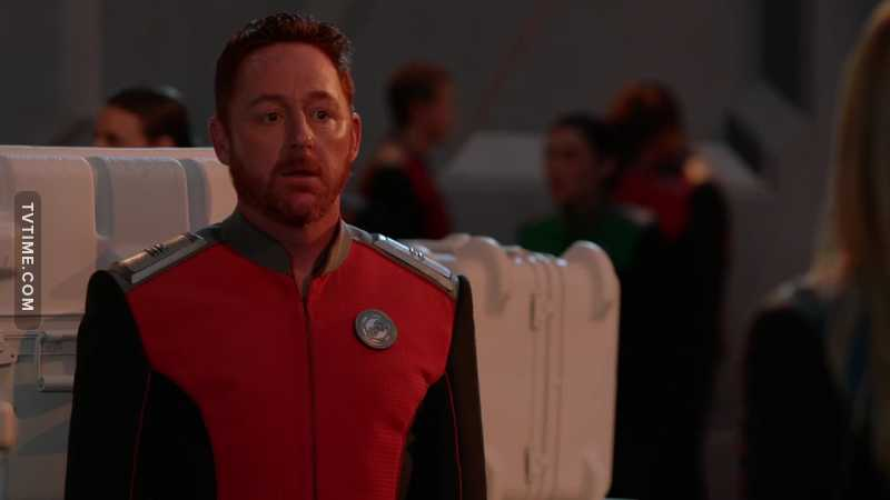 The Pee Corner!! 😂😂 One thing I love about Orville is they talk about real things too. You never hear anyone talking about pissing in Star Trek! 😂