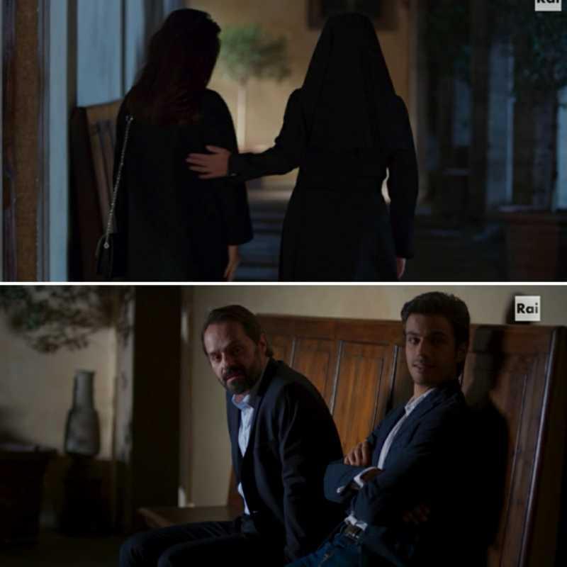 """Pietro: """"L'avresti mai detto che esistono suore così?"""" Nico: """"E ma sempre suore rimangono..."""""""