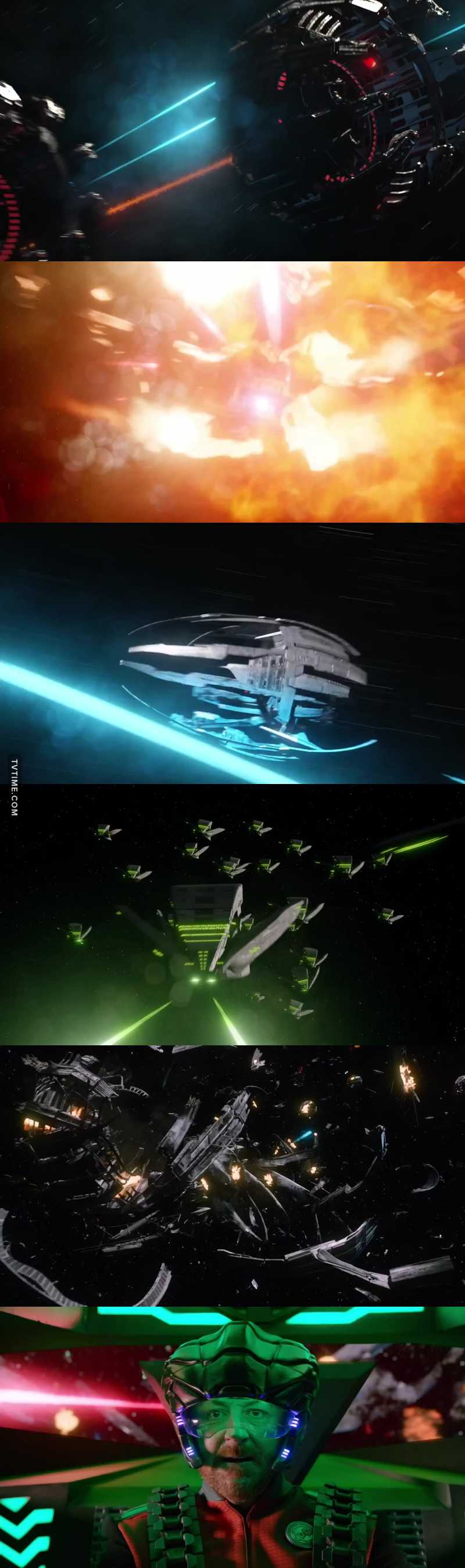 IT IS TIME TO WASH YOUR MOUTH OUT WITH SOME GORDON!   That was an epic battle! Lost a lot of ships in the fleet! Do you think they should keep Issac on board the Orville!!??