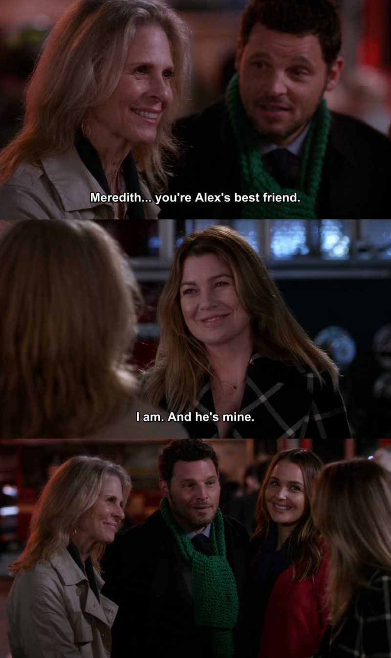Can we talk about how cute this scene was!? I just LOVE their friendship