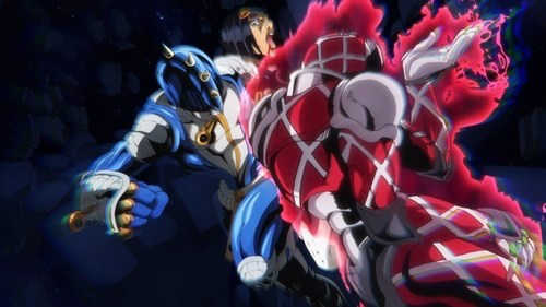 Awesome episode King Crimson is such a badass and dangerous Stand. I love its design, abilities, and characteristics so far.  Looks like we got a big fight this episode for the arc. David Production made that look smooth and stylish. A pretty thrilling episode. King Crimson is no pushover.