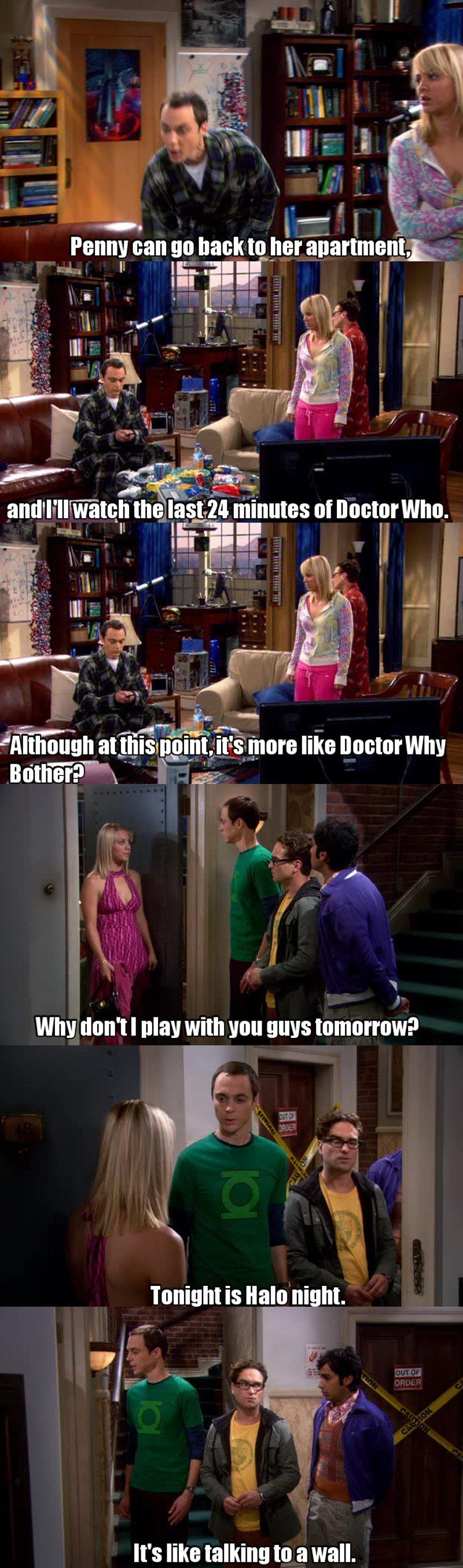 Sheldon is absolutely amazing