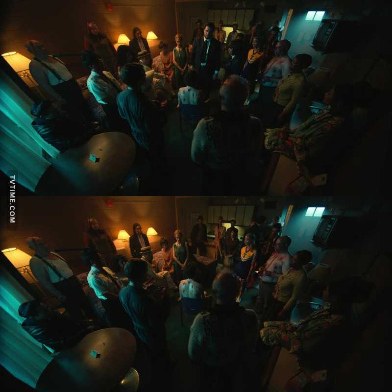 The scene with the ghosts it was amazing. This show impressed me more in every episode 😍