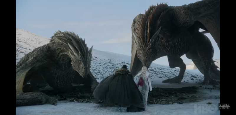 OMG Jon is going to ride the other dragon!!! It makes totally sense, since it is named after his father!!