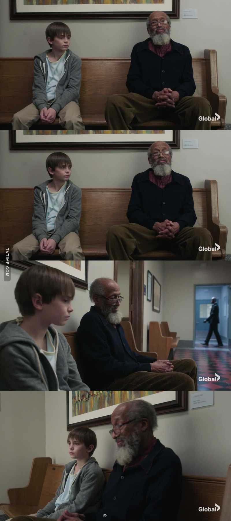 A perfect representation of what life is.. Young wish to be old Old wish to be young This scene was so fucking beautiful 🙌🏽