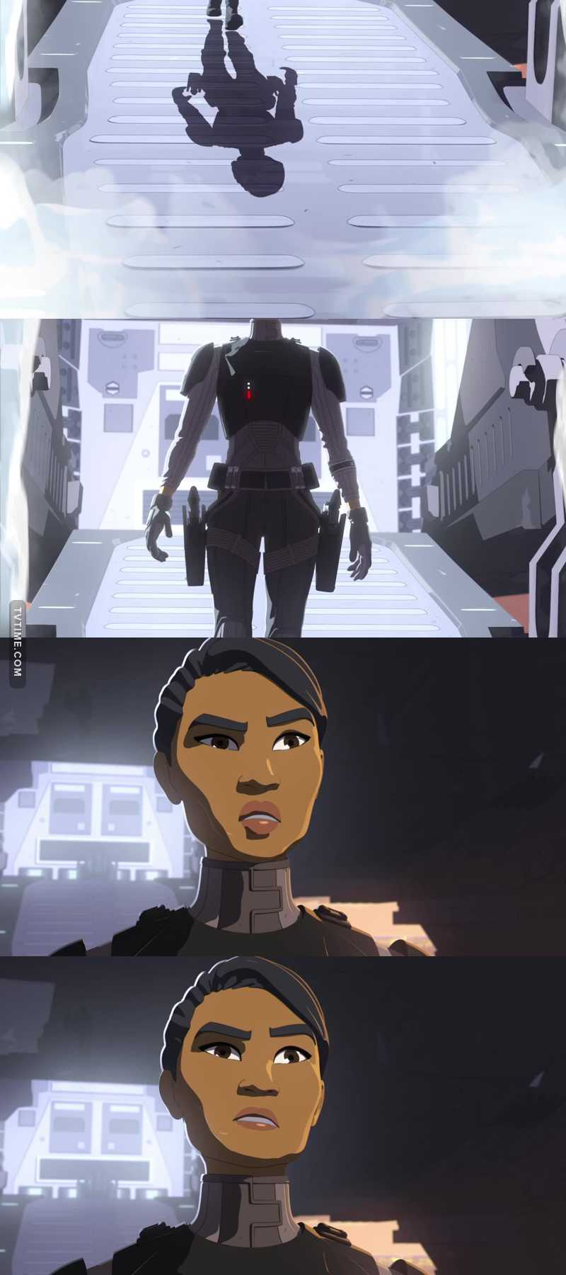 Agent Tierny of the First Order Security Bureau.  I already love her honestly. She's giving me Kallus flashbacks, hopefully she'll turn out as cool as him... 🤞🤞🤞