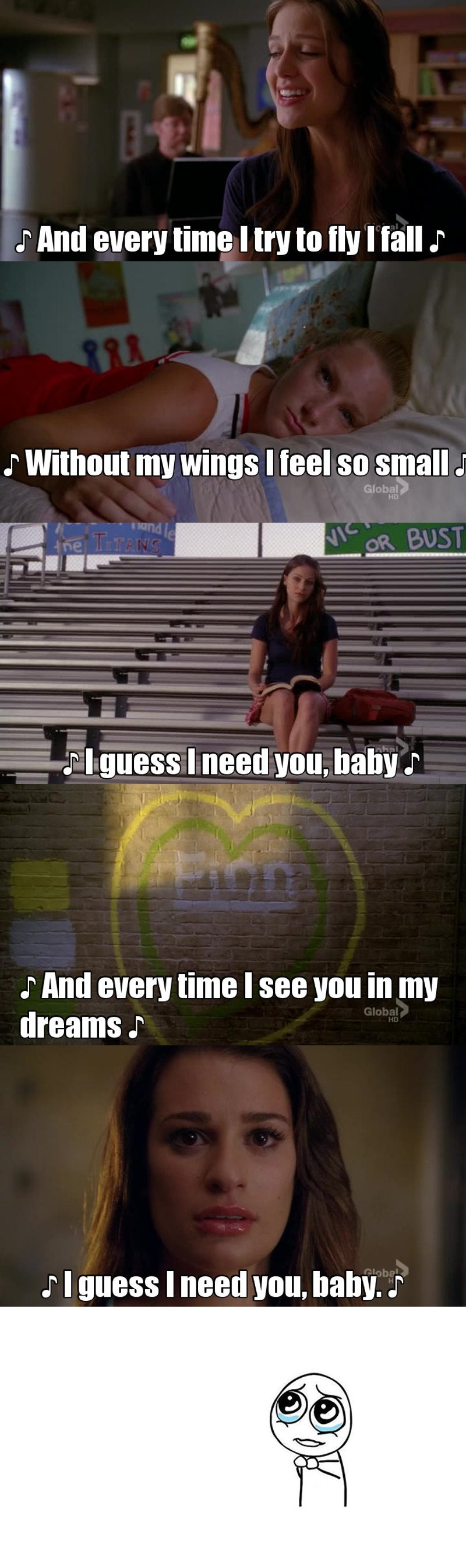Probably one one of my favorite episodes of Glee in recent memory... A sequel 'Brittany' episode of sorts... And up until the very end I'm like... 'No way we can get through 2 B.Spears episodes without 'Everytime' (coincidentally my fave), and boom, they ended with it... And beautifully I might add! Glee feels like it's evolving as a show and I know this probably is where traditionalists probably started being pushed away but I'm liking it more and more so far!