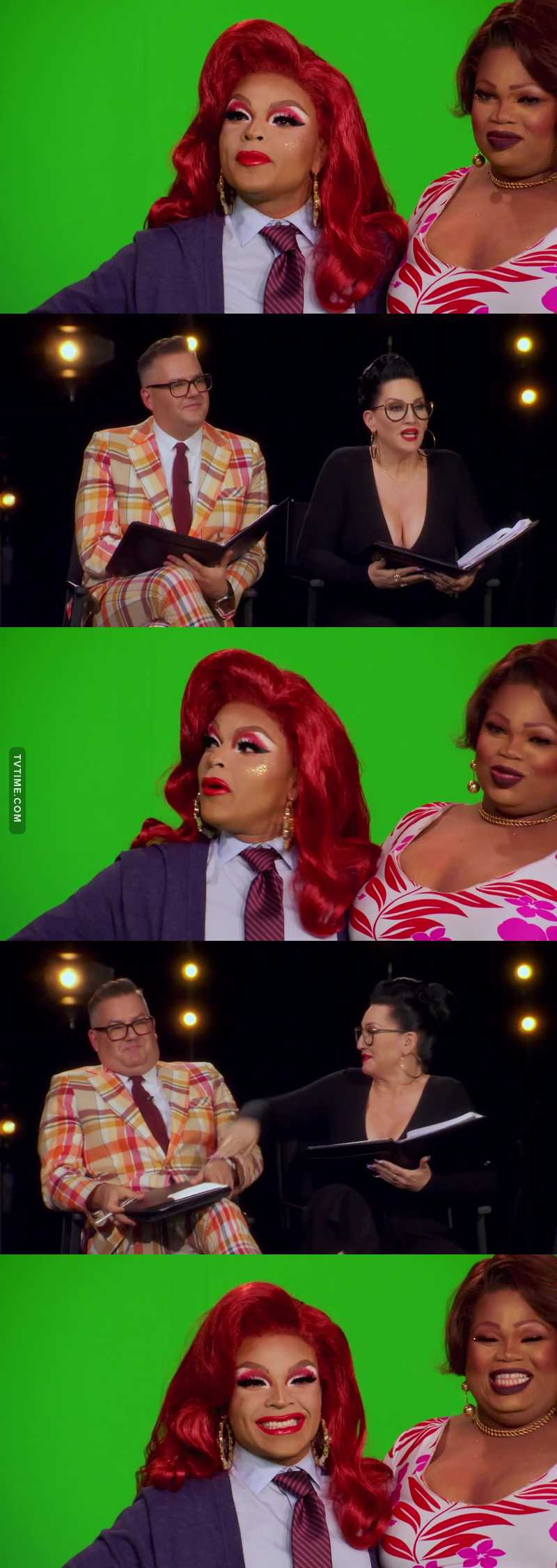 Vangie is a fucking bless to this world, i laughed so hard at this part.