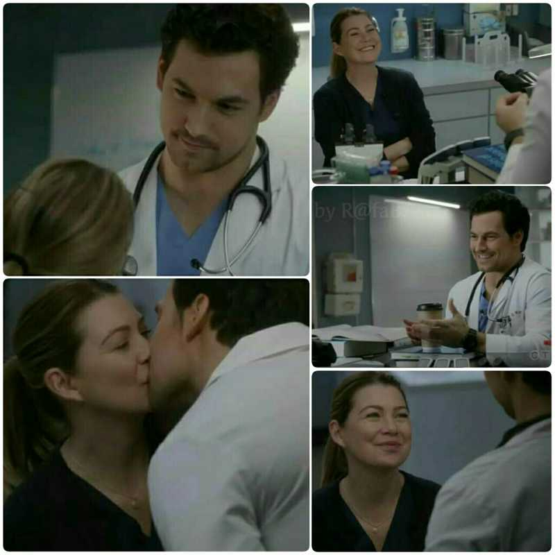 I really love Meredith and DeLuca's relationship.