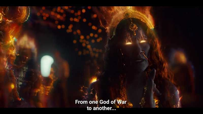 "This is mother Kali, the goddess of death, time and distruction (of demons). I've never heard of the name ""mama ji"" they called her on this episode. She's one of the most powerful god in the hindu mythology. Excited for this season!!!"
