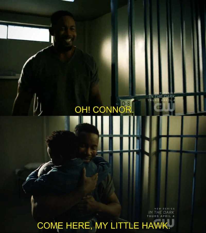I did not see this coming!!  Connor already told us that he was the adopted son of Diggle, but he is Turner's son, it means that Bronze Tiger will die later this season and eventually Diggle will take care of the kid, right??