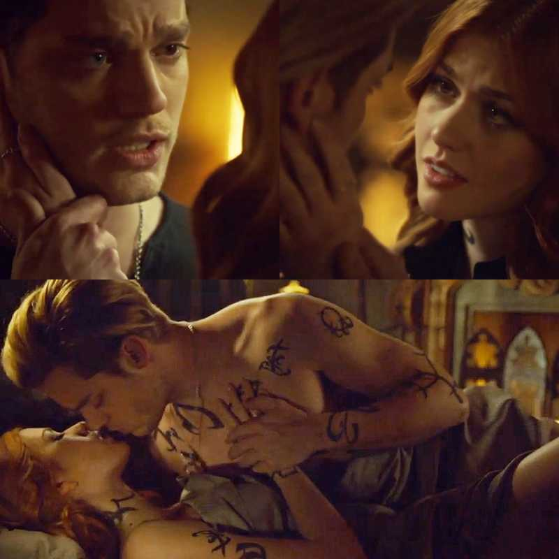 """TRUE LOVE💜 -""""I love you."""" -""""I love you Clary. I'll love you until I die. And if their is a life after this I'll love you then too."""" #Clace"""