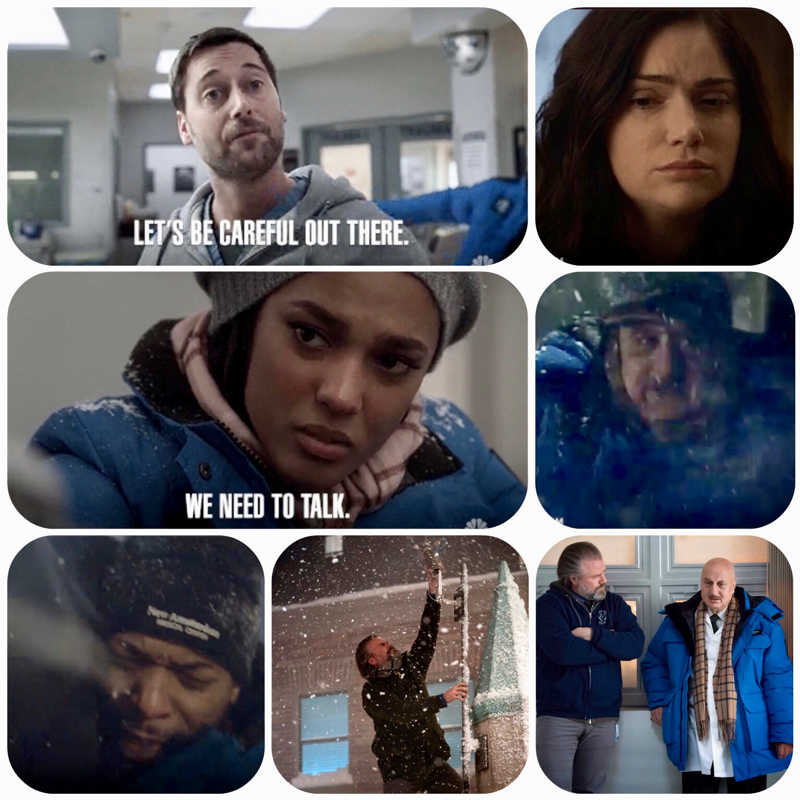 Wow what an emotional intense night and now we have to wait till April the 9th. Damn!!! So many feels  tonight. I know Max loves his Wife so stop this crap . Maybe his  Medicine May be causing some of these emotional feelings.  Bundle up because it's getting chilly inside and outside.... 🥶 Please dont ruin their awesome team work and friendship! Guess  Just Stop 🛑😤