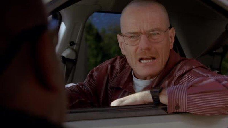Searching for Heisenberg..Heisenberg right in front of them..