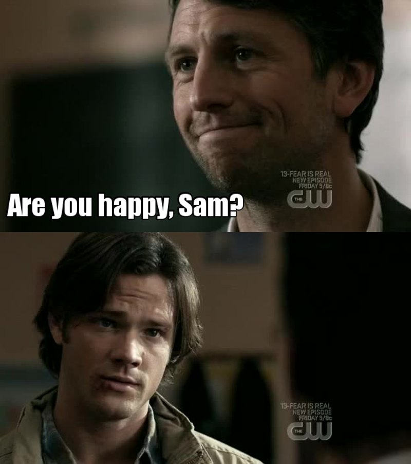 Poor Sam...  I think this is the most difficult question any body can answer !! 😐