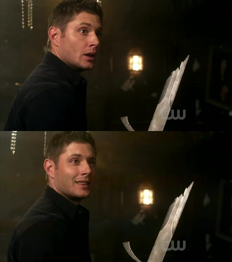 omfg dean was hilarious! And I am super glad that we have our sammy back :')