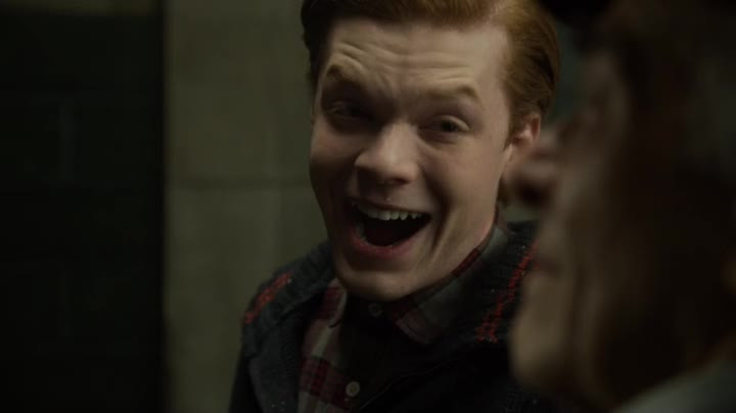 Cameron just KILLED IT on Gotham! That Joker laugh was amazing, can't wait to see more of him, he's SO talented