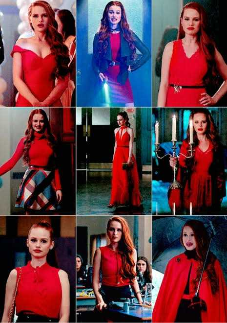 Cheryl invented the red.