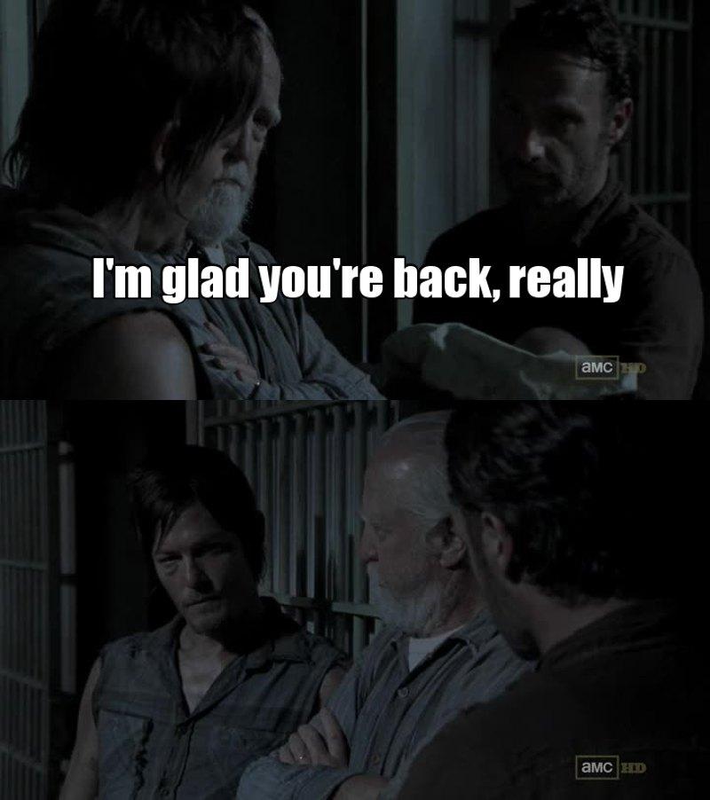 Rick represents the whole fandom right now.