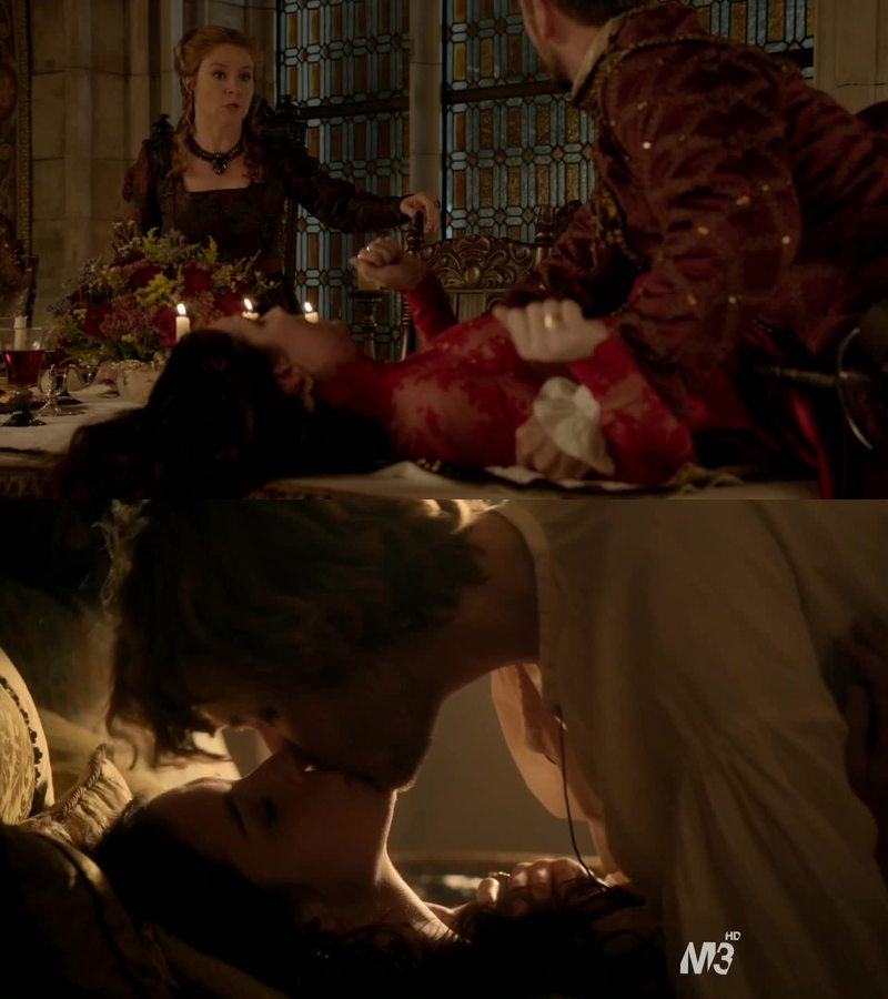 Woah Catherine is a very a intense characters and I love her. Frary is otp!