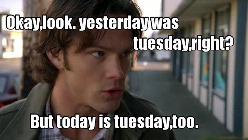 Tuesdays will never be the same lmao