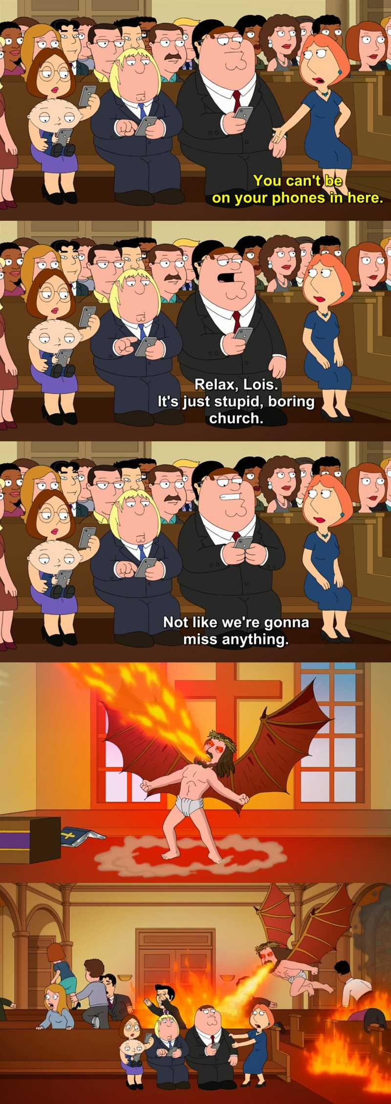 family guy you cant handle the booth cast