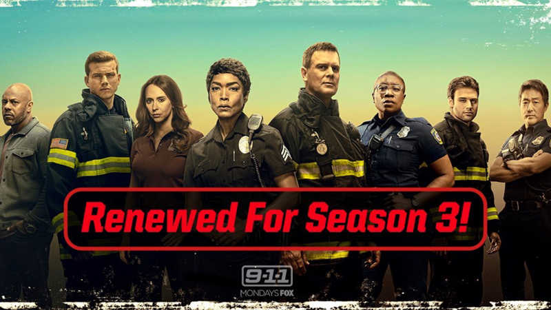 Sound the alarm — #911onFOX just got renewed for Season 3!  So excited to hear this. Awesome Show. ❤️❤️❤️❤️