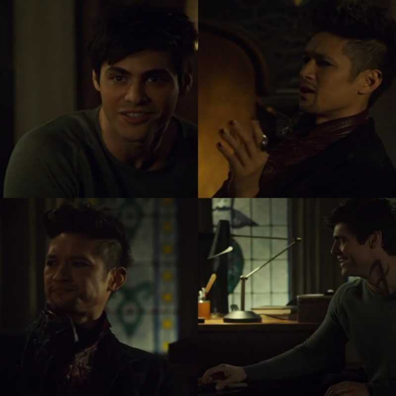 Magnus with Alec's jealousy was so cute