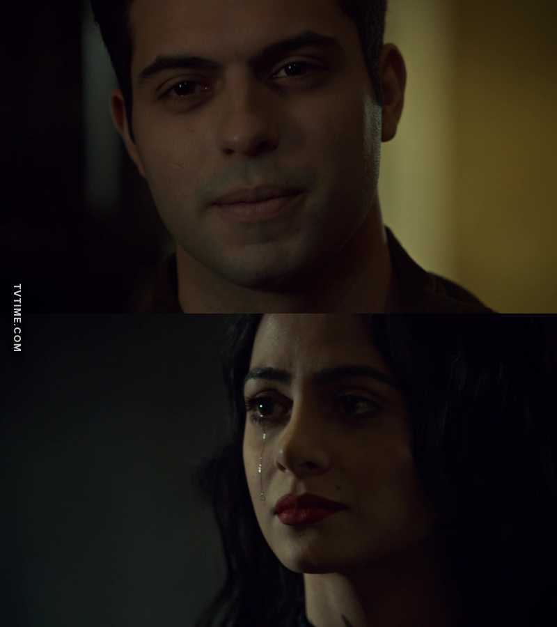 Raphael and Izzy. That heartbreaking scene 💔