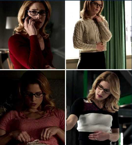 Felicity touching her belly 🤧💚