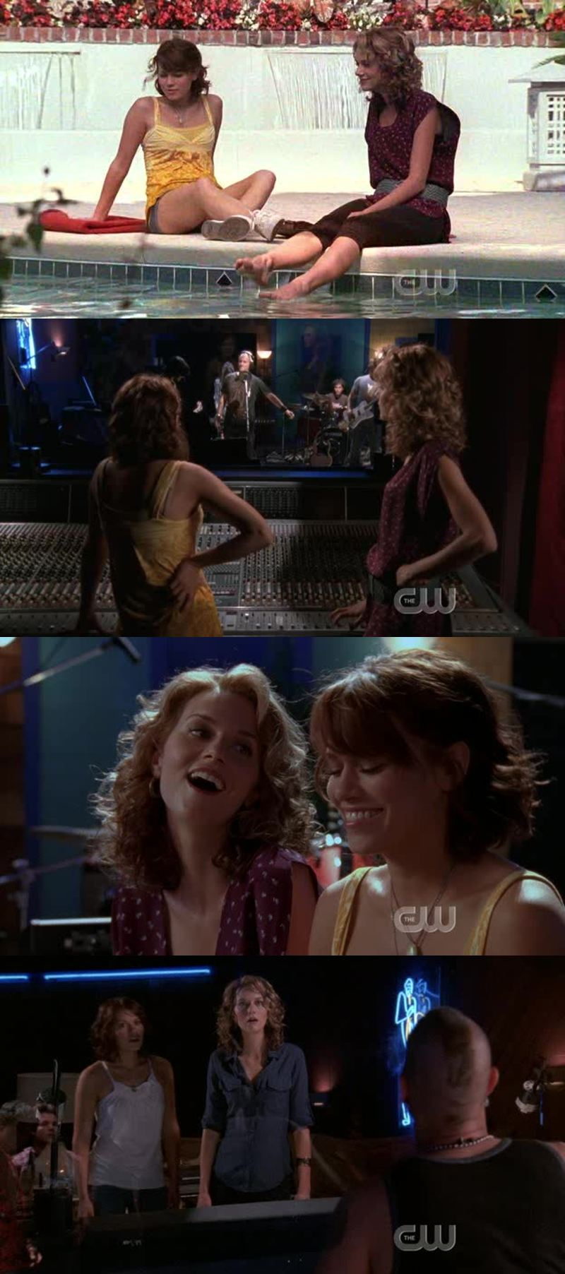 also loving peyton and haley - that we never got enough of