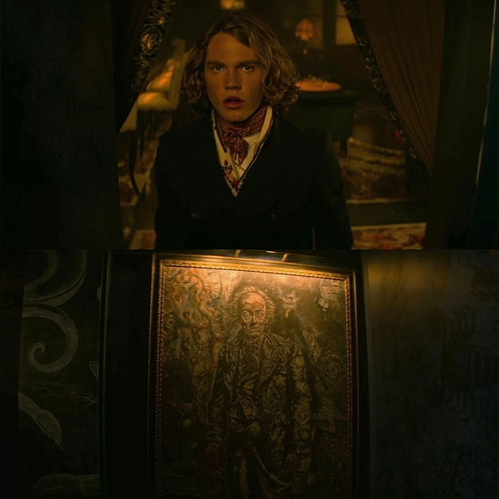 He's actually Dorian Gray, I thought it was just a reference lol Loved it  BTW: I miss Penny Dreadful