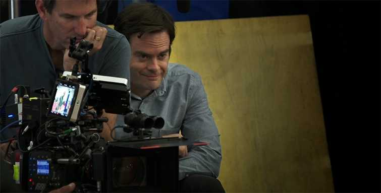 Behind the scenes HBO