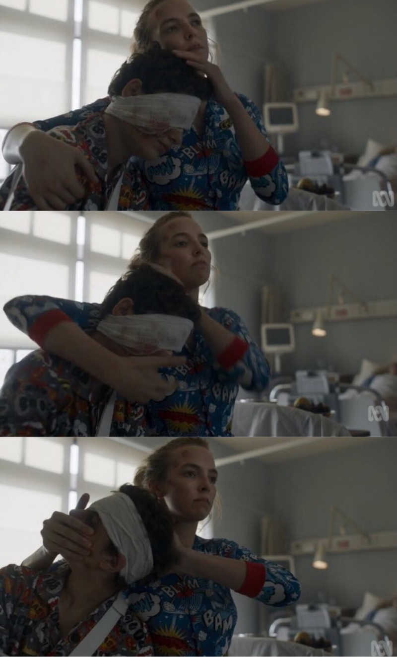 i thought their relationship was lovely but i guess villanelle will never change