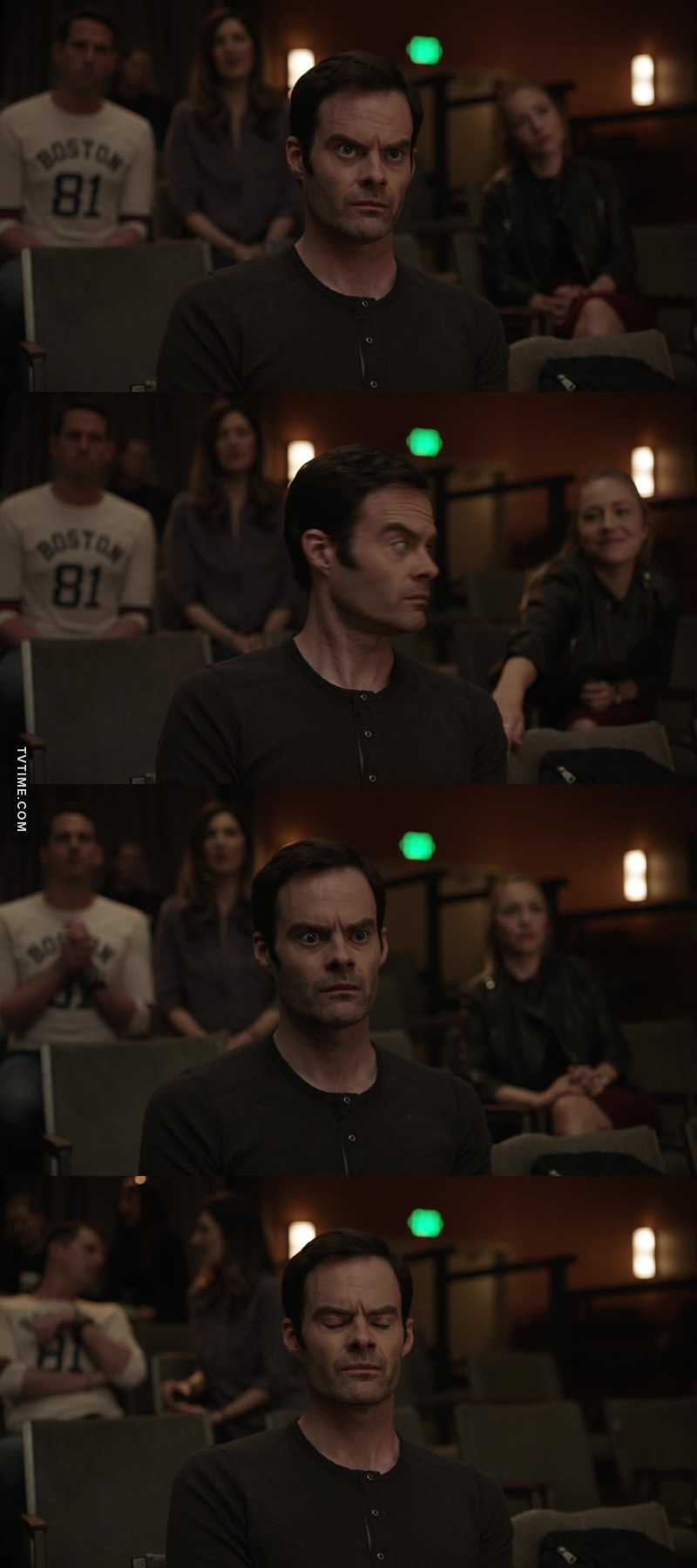 The best facial expressions.