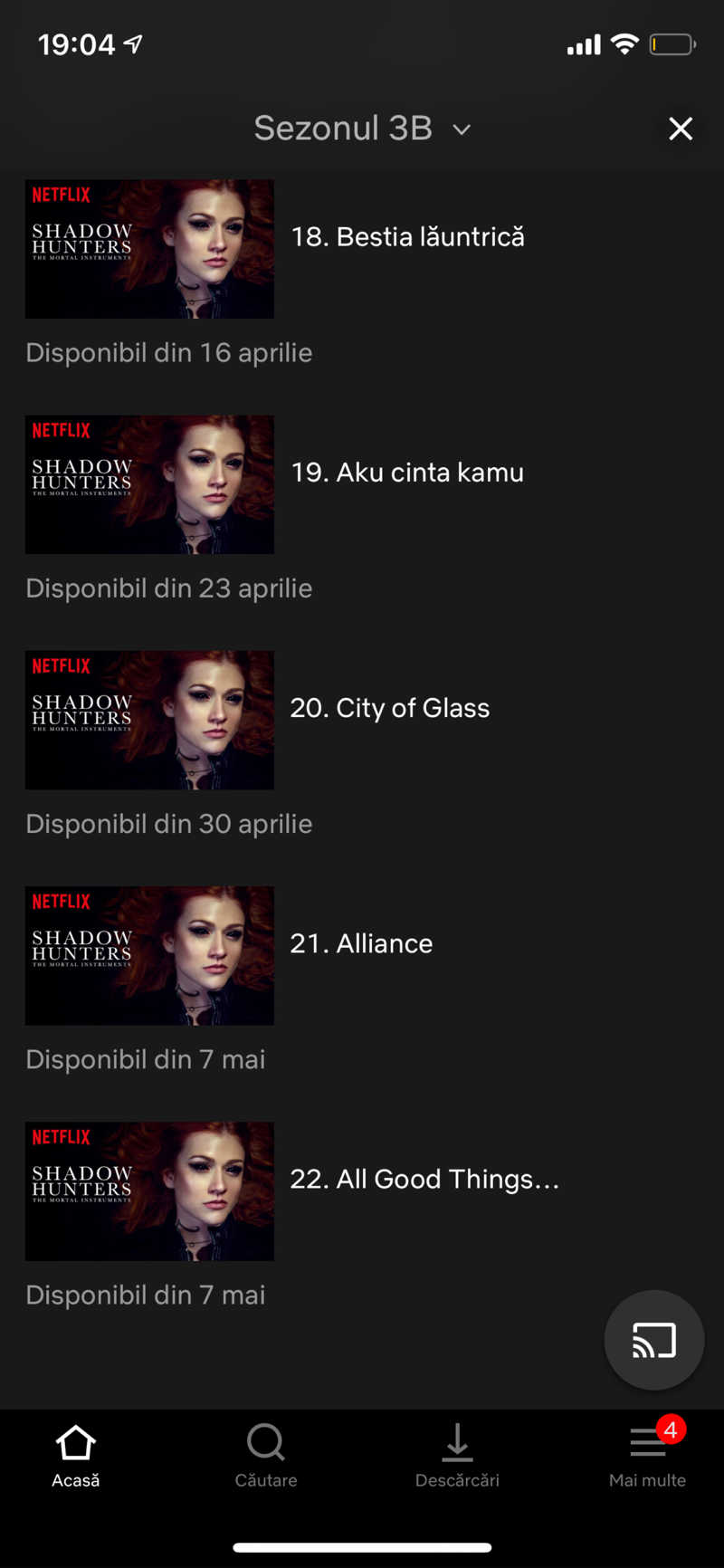 on  netflix there are now 22 eps not 20